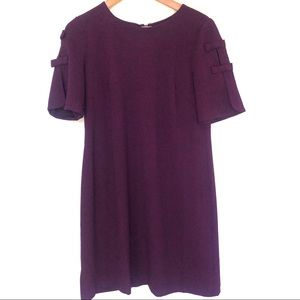 Vince Camuto plum purple dress
